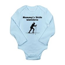 Mommys Little Biathlete Body Suit