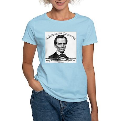 Abraham Lincoln 04 Women's Light T-Shirt