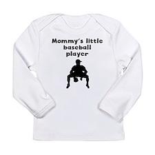 Mommys Little Baseball Player Long Sleeve T-Shirt
