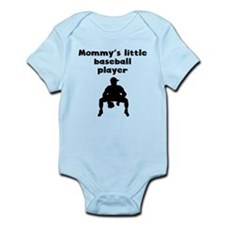 Mommys Little Baseball Player Body Suit