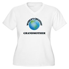World's Greatest Grandmother Plus Size T-Shirt