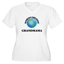 World's Greatest Grandmama Plus Size T-Shirt