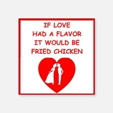fried chicken lover Sticker
