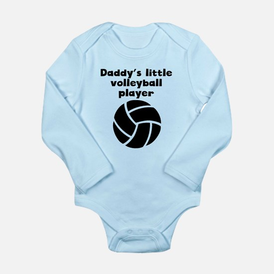 Daddys Little Volleyball Player Body Suit