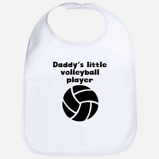 Daddys Little Volleyball Player Bib