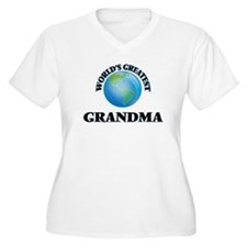 World's Greatest Grandma Plus Size T-Shirt