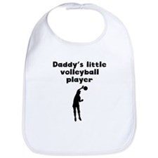 Daddys Little Volleyball Player Bib