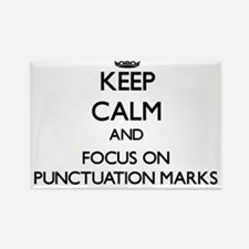 Keep Calm and focus on Punctuation Marks Magnets