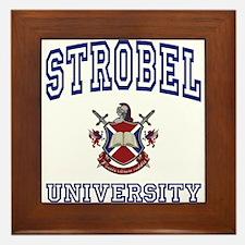 STROBEL University Framed Tile
