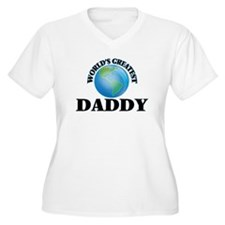World's Greatest Daddy Plus Size T-Shirt