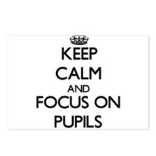 Keep Calm and focus on Pu Postcards (Package of 8)