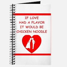 chicken noodle Journal