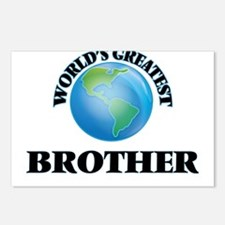 World's Greatest Brother Postcards (Package of 8)