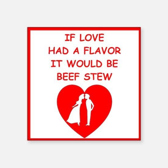 beef stew Sticker