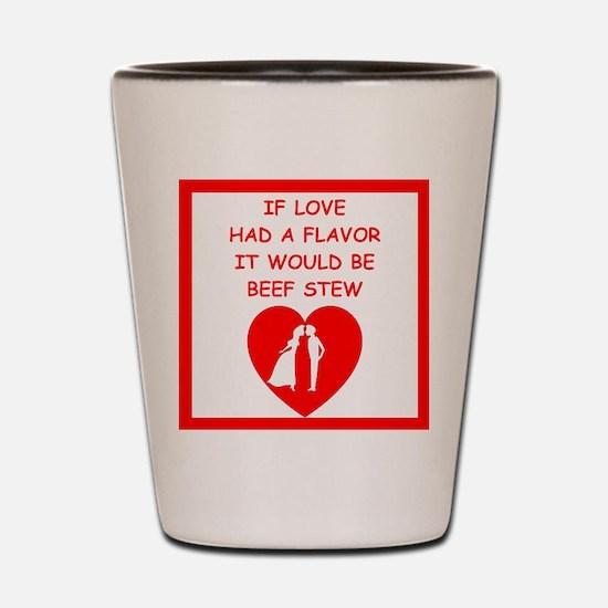 beef stew Shot Glass