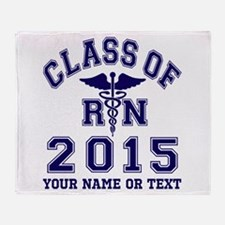 Class Of 2015 RN Throw Blanket