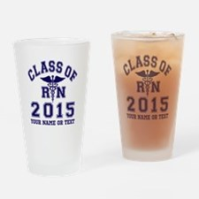 Class Of 2015 RN Drinking Glass