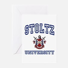 STOLTZ University Greeting Cards (Pk of 10)