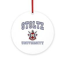 STOLTZ University Ornament (Round)