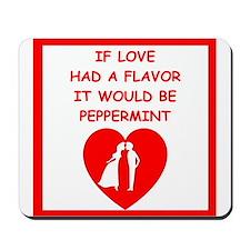 peppermint Mousepad