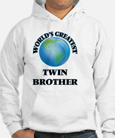 World's Greatest Twin Brother Hoodie