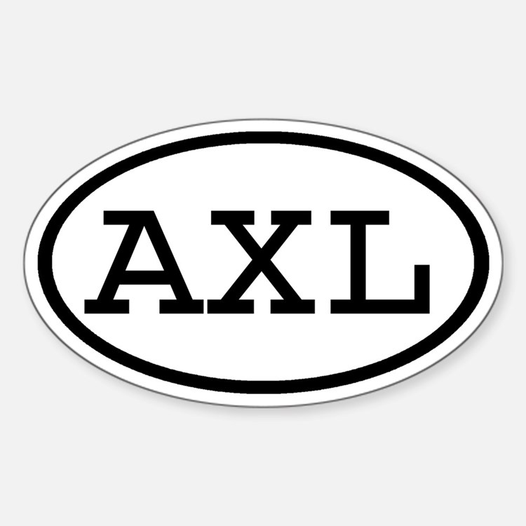 AXL Oval Oval Decal