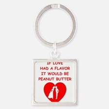 peanut butter lover Keychains