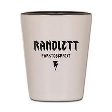 RANDLETT PARKTOBERFEST Shot Glass
