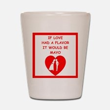 mayo Shot Glass