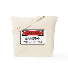 Attitude Gambian Tote Bag