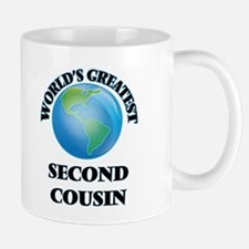 World's Greatest Second Cousin Mugs