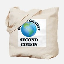 World's Greatest Second Cousin Tote Bag