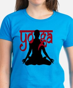 Yoga Lotus Pose  Tee