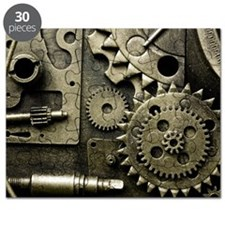 Mechanical Gears Puzzle