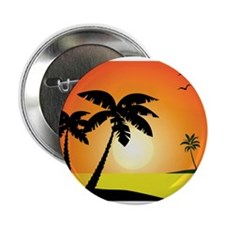 """Tropical Sunset 2.25"""" Button (100 pack)"""
