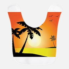 Tropical Sunset Bib