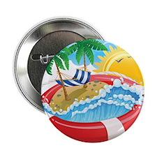 """Beach Pool 2.25"""" Button (10 pack)"""
