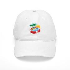 Beach Pool Baseball Baseball Cap