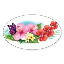 Tropical Banner Decal
