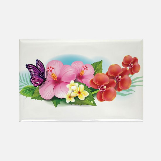 Tropical Banner Magnets