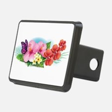 Tropical Banner Hitch Cover