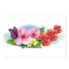 Tropical Banner Postcards (Package of 8)