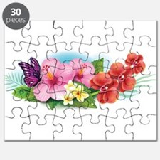 Tropical Banner Puzzle