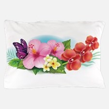 Tropical Banner Pillow Case