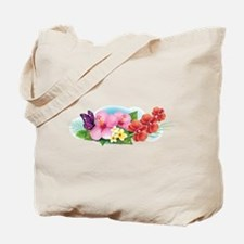 Tropical Banner Tote Bag