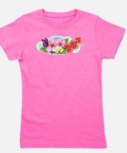 Tropical Banner Girl's Tee