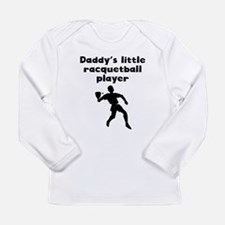 Daddys Little Racquetball Player Long Sleeve T-Shi