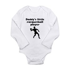 Daddys Little Racquetball Player Body Suit