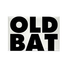 Old Bat Rectangle Magnet (100 pack)