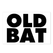 Old Bat Postcards (Package of 8)